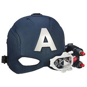 Capacete com Visor Capitão América Guerra Civil Marvel - Hasbro