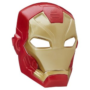 Máscara Eletrônica Homem de Ferro Tech Fx Mask Guerra Civil - Hasbro