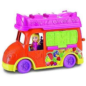 Boneca Polly Pocket Carrinho De Sucos - Mattel