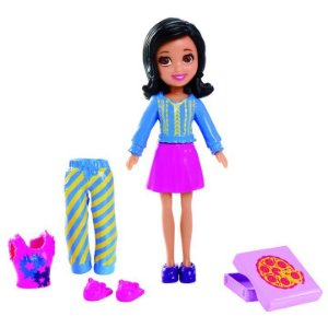 Boneca Polly Pocket Casa Divertida Crissy - Mattel