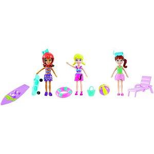 Boneca Polly Pocket Diversão No Mar & Areia - Mattel