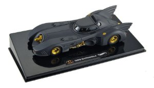 Batmóvel Batman 1989 Batmobile 1:43 - Hot Wheels Elite