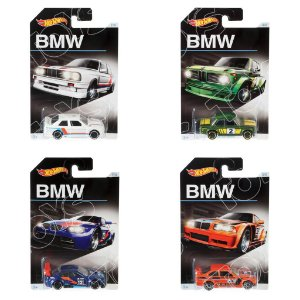 Kit BMW 4 Carros 1:64 Hot Wheels - Mattel