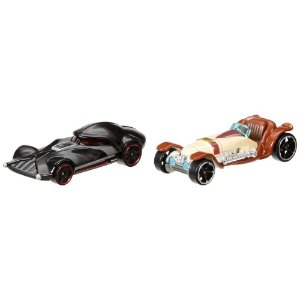 Darth Vader & Obi-Wan Kenobi Hot Wheels Star Wars