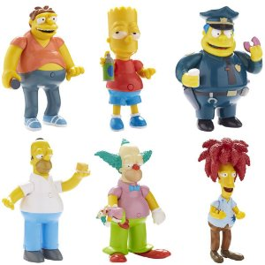 Kit The Simpsons Talking Figure 25 Years - Multikids