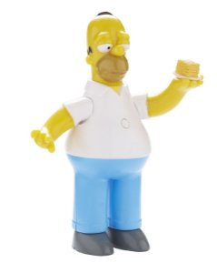 The Simpsons Homer Simpson Talking Figure 25 Years Multikids
