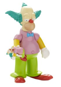 The Simpsons Palhaço Krusty Talking Figure 25 Years Multikids