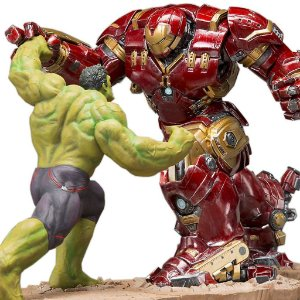 Kit Hulkbuster e Hulk Age of Ultron ArtFX+ Statue 1/10 - Kotobukiya