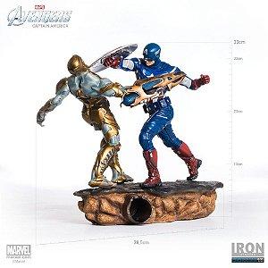 Captain America 1/6 Diorama Avengers Iron Studios