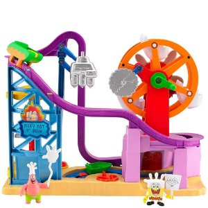 Imaginext Bob Esponja Parque De Diversões Glove World - Fisher Price