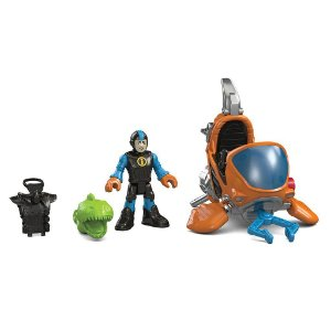 Imaginext Mini Submarino Oceano - Mattel - Fisher Price