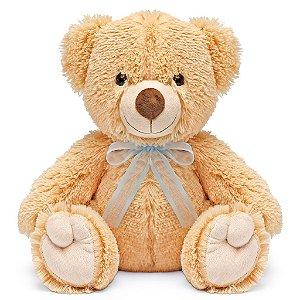 Urso de Pelúcia Charmoso Caramelo 30cm