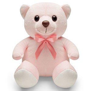 Urso de Pelúcia Rosa 20cm