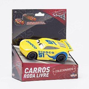 Dinoco Cruz Ramirez Roda Livre Colecionáveis 13cm Carros Disney