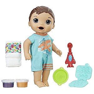 Baby Alive Meu Primeiro Filho Moreno - Hasbro
