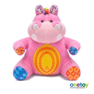 Pelúcia Color And Creck Hipopótamo Rosa Pink