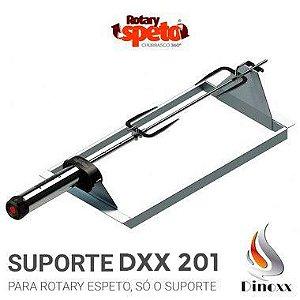 Suporte de espetos (opcional) para churrasqueira Slim DXX 201 - DINOXX