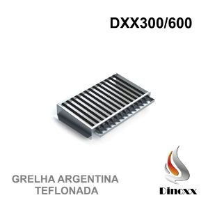 Grelha Argentina (opcional) para churrasqueira DXX 300 - TEFLONADA - DINOXX