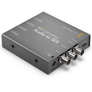 Blackmagic MiniConversor Áudio para SDI