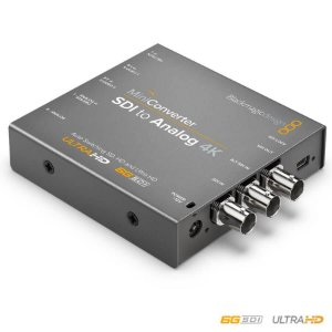 Blackmagic MiniConversor SDI para Analógico 4K
