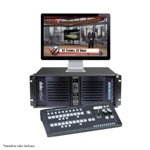 Datavideo TVS-1200A Sistema de Estúdio Virtual Trackless SDI