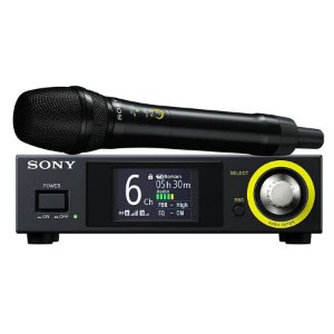 Microfone Digital Sem Fio Sony DWZ-M70