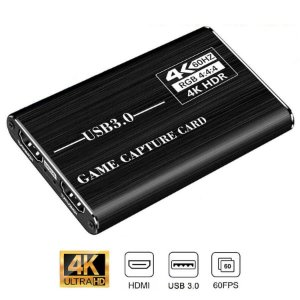 Placa de Captura 4K HDMI Para USB 3.0