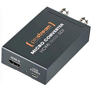 Prostream Micro Conversor Converter GO HDMI Para SDI