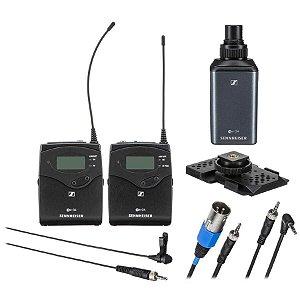 Sennheiser EW 100 ENG G4 Microfone Sem Fio Para Câmeras