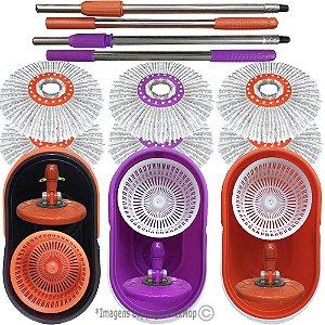 Spin and Go 360 Padrão USA, Linha Pró, Marca Flexmop® nº 1