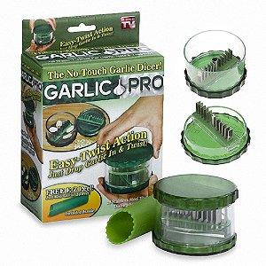 Kit Descascador + Moedor Triturador de Alho c/20 Lâminas 100% Aço Inox Marca: Original Garlic Pró®