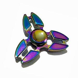 Fidget Hand Spinner Gótico Furtacor 3 pontas