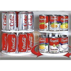 Organizador Carrossel de Latas de Comida, Latas de Bebidas Can Tamer® - Organizador de Cozinha