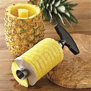 Descascador Cortador e Fatiador de Abacaxi na Pineapple Eye Remover Knife®