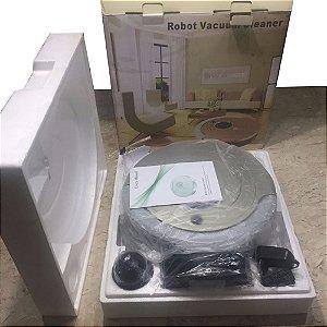 Robot Vacuum Cleaner© com Ultra Violeta, Parede Virtual e Acessórios