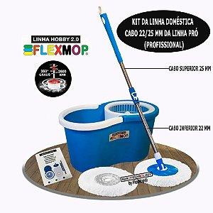 Mop Spin 360 Padrão USA Linha Hobby 2.0 Único com Cabo de 25mm