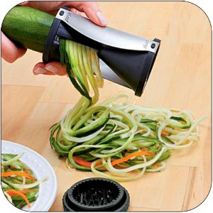 Cortador de Vegetais em Tiras na Shoppstore Vegetable and Fruit Spiral Slicer®