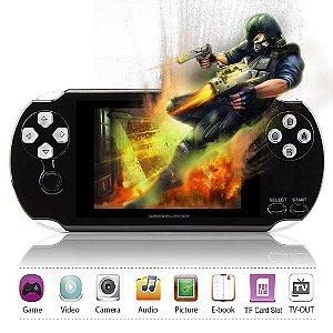 MP5 tela de 4.3 compátivel MP4 e MP3 Player c/Touch Screen e Câmera de 8GB! Vários Jogos+Music+FM