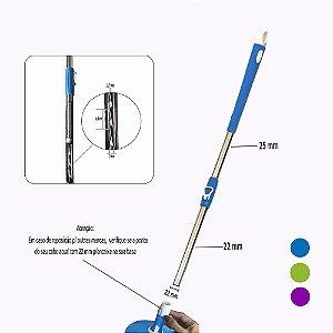 Cabo Mop 35% +Robusto c/25mm c/Encaixe de 22 mm p/Linha Hobby 2.0 FlexMop®