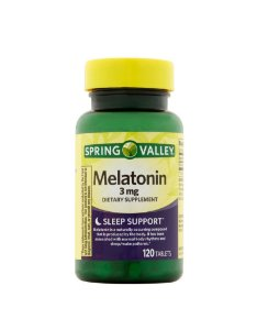 Mellatonina 3 mg 120 tablets Spring Valley®