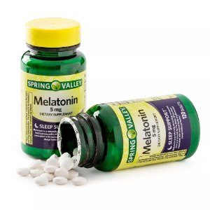 Mellatonina 5 mg 120 tablets Spring Valley®