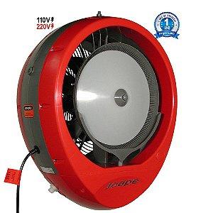 Climatizador Cassino 2019 Econômico/Potente Consumo 160W Fluxo Ar 2.760m³/h Marca:Joape Cor Vermelha