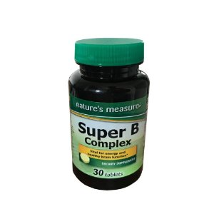 Super B complex 30 comp  Natures Measure®