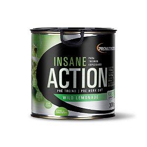 Pré-treino Insane Action 300g - Limonada