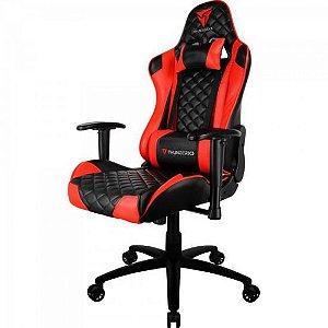 Cadeira Gamer Profissional TGC12 Preta/Vermelha THUNDERX3