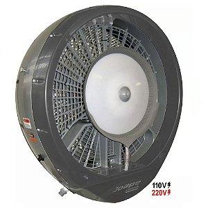 Climatizador 660 Mod.2020 Econômico/Potente Consumo 200W Fluxo Ar 10.000m³/h Marca:Joape Cor Cinza