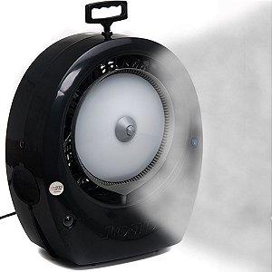 Climatizador Portátil Bob SUPER 2020 c/Névoa Água Econômico 148 Watts Fluxo de Ar: 1700 m³/h Marca: Joape Cor Preto