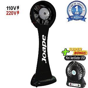 Climatizador Pedestal 100lt Guarujá Mod.2020 Econômico/Potente 230W Fluxo12.000m³/h Marca:Joape Pto