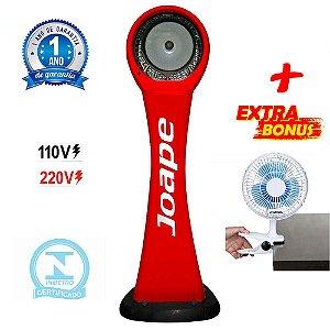 Climatizador Cassino Pedestal 2020 Marca Joape By Shoppstore + Brinde Mini Ventilador 20 cm Cor Vermelha