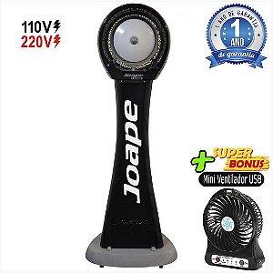 Climatizador Cassino Pedestal 2020-80lts Econômico/Potente 160W Fluxo Ar 2.760m³/h Marca:Joape Cor Preto
